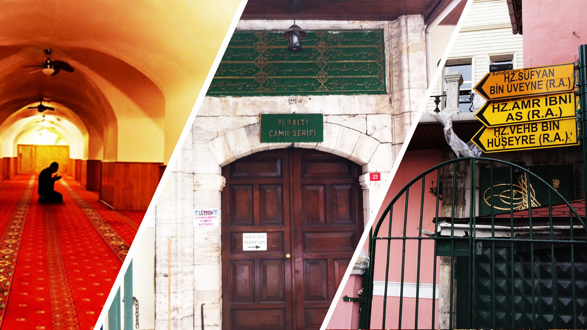 مسجد ييرالتي Karaköy Yeraltı Camii
