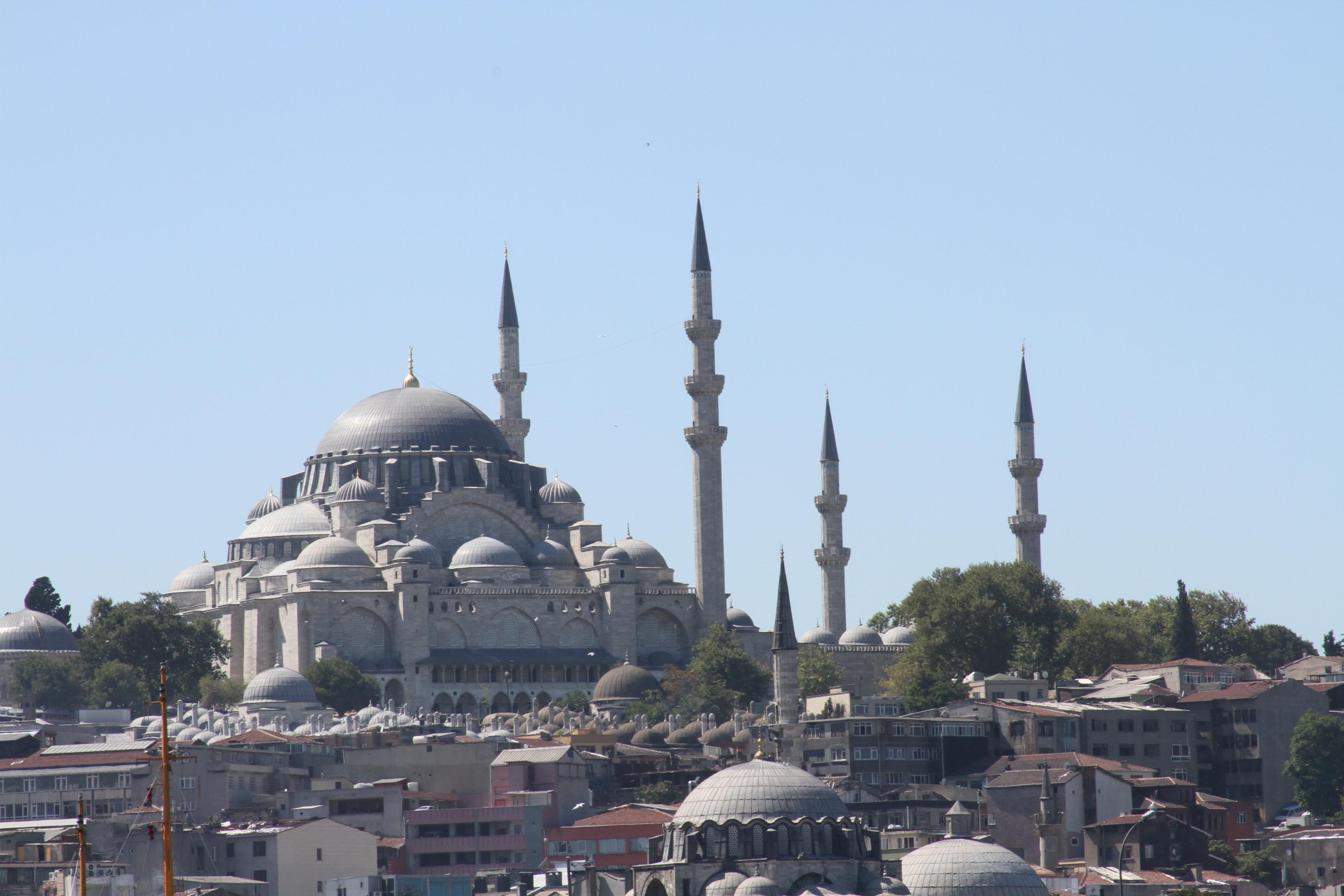 موقع جامع السليمانية في اسطنبول süleymaniye camii