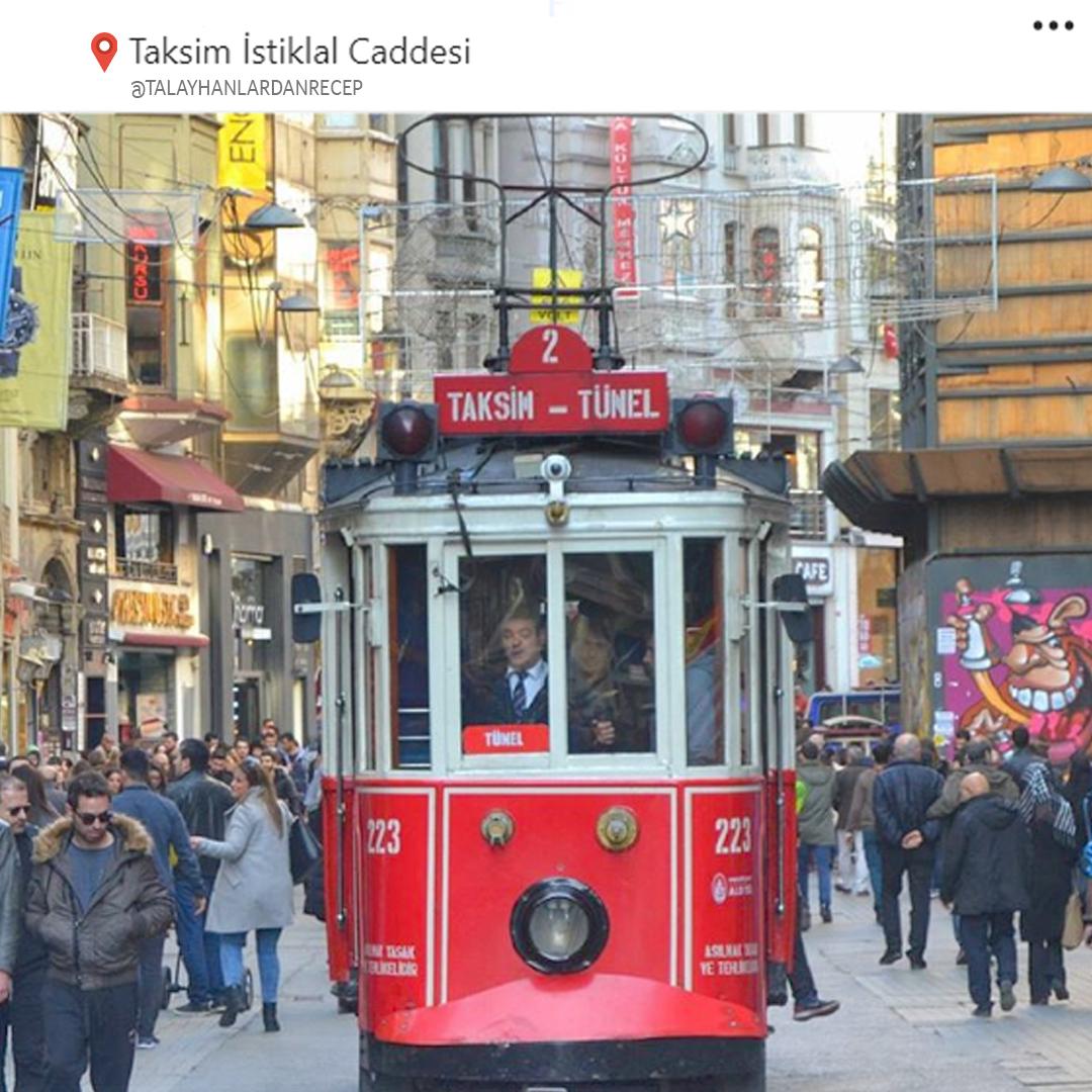 Istiklal Caddesi  شارع الاستقلال اسطنبول